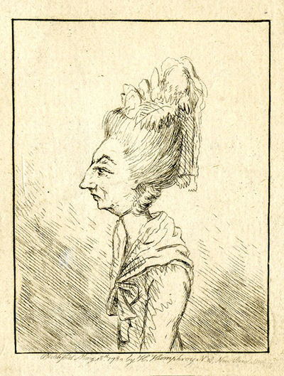 James Gillray. [Lady Cecilia Johnston] Courtesy of the National Portrait Gallery