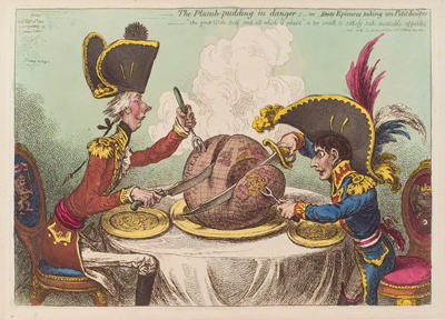The Plumb Pudding in Danger Courtesy of the National Portrait Gallery